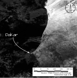 Données MODIS issu de earthdata